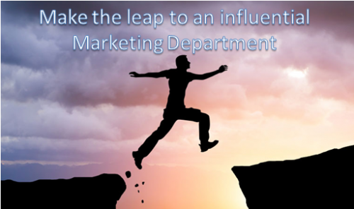 How an influential marketing department affects business performance and how to use it to your advantage
